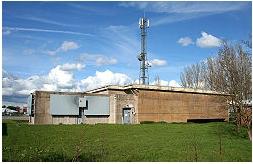 VHF & UHF WebSDR at RAF Hack Green